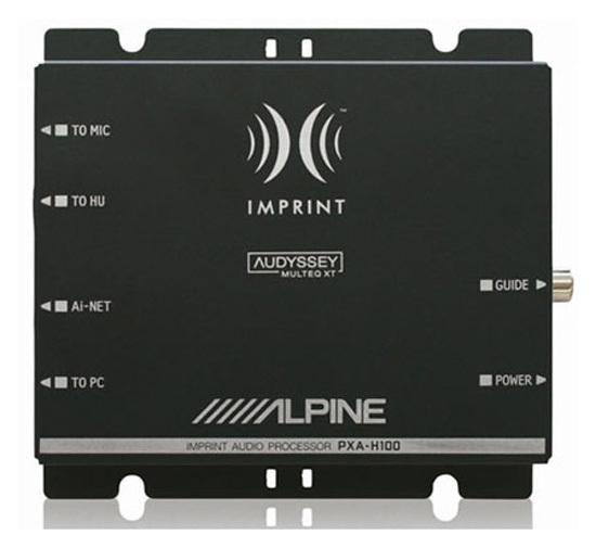 Alpine PXA-H100 Процессор Imprint Sound.